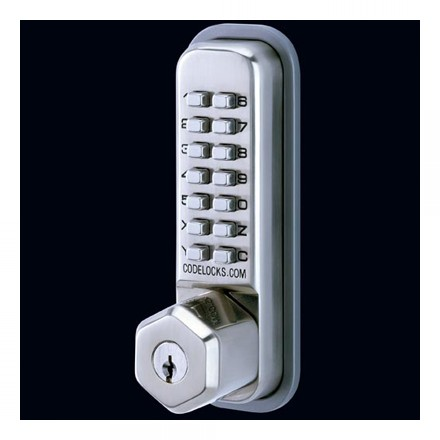 CL200 KEY - Codelock Light Duty Surface Deadbolt with Key Override
