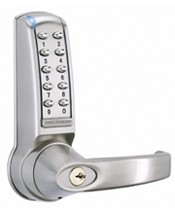 CL4020 - Codelock Euro profile mortice sash lock with deadbolt and latchbolt.