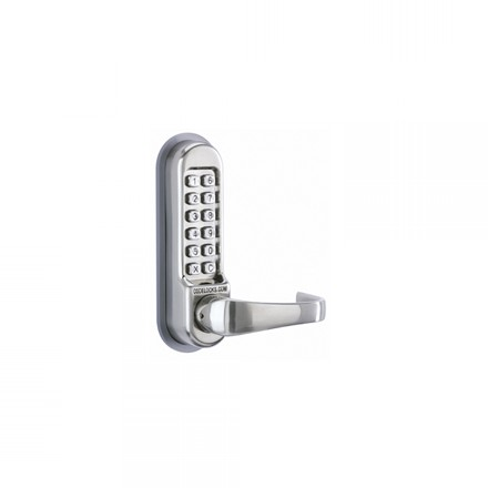 CL515 BB - Codelock CL515 Back to Back Tubular Mortice Latch With Code Free Entry Option