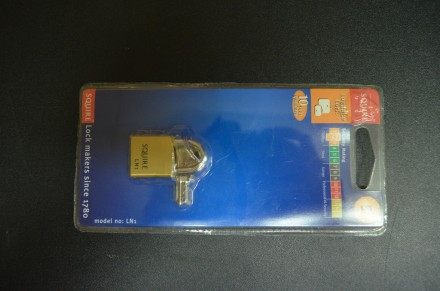 LN1 - Squire Lion Brass Padlock